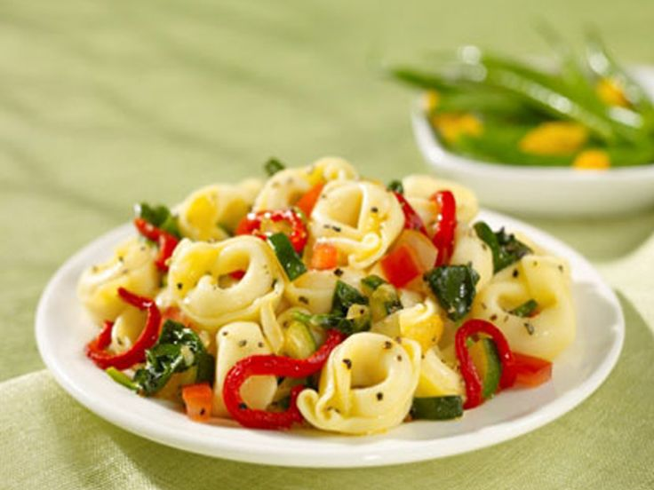 Recipe Three Cheese Tortellini With Roasted Red Pepper