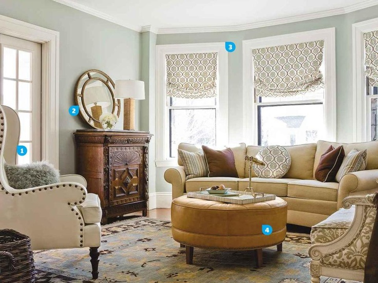A carefully balanced redesign brings subtle contemporary touches to a 19th-century home.