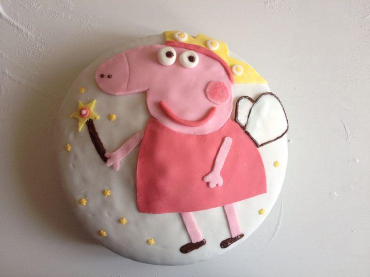 Torta Peppa Pig fatina - handmade cake