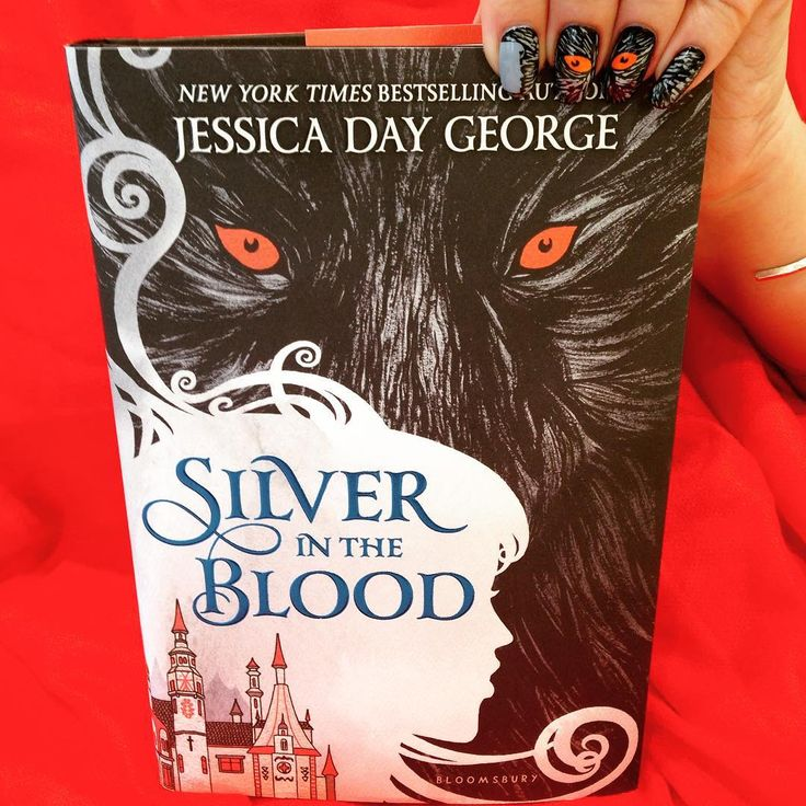 SILVER IN THE BLOOD, a lush historical fantasy by bestselling author Jessica Day George, is on sale tomorrow! #manimonday