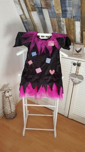 Kostüme für Kinder - Hexenkleid, Hexe 98/104 - ein Designerstück von GuteUte bei DaWanda