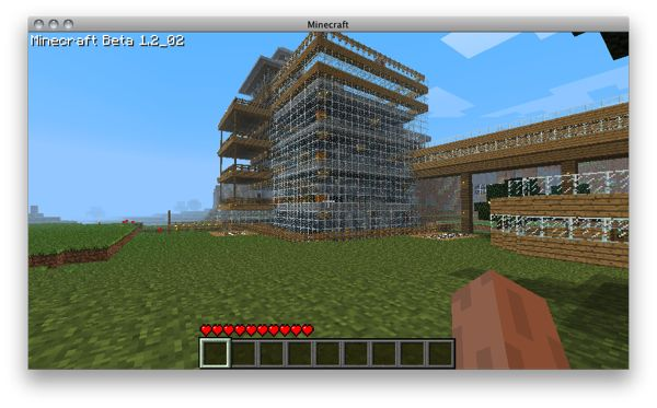 Coo minecraft house.