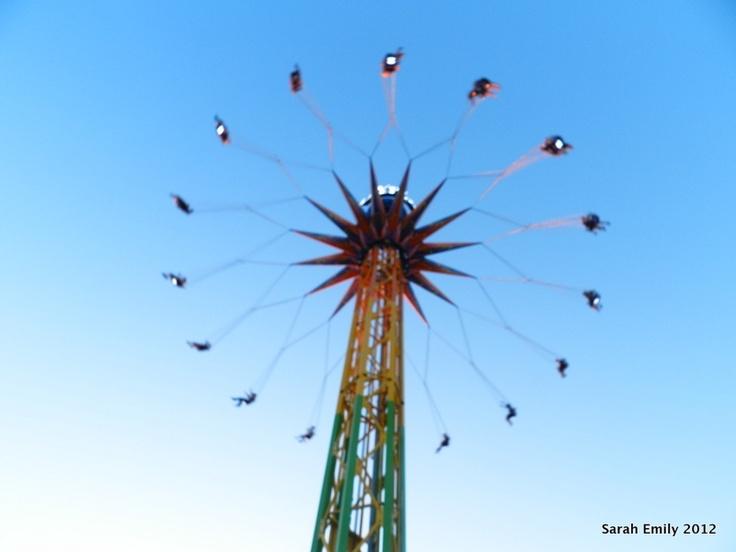 A ride at La Ronde Amusement Park in Montreal, CA.