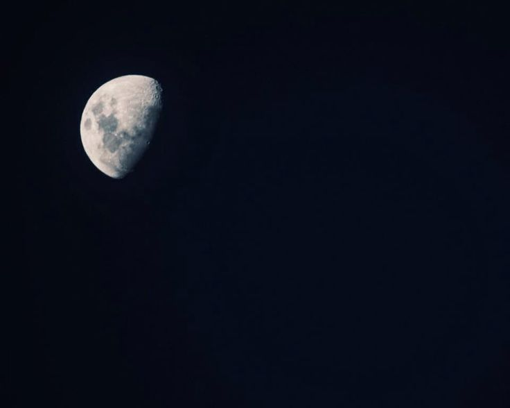 The moon from Cheviot, New Zealand. 600mm lens.