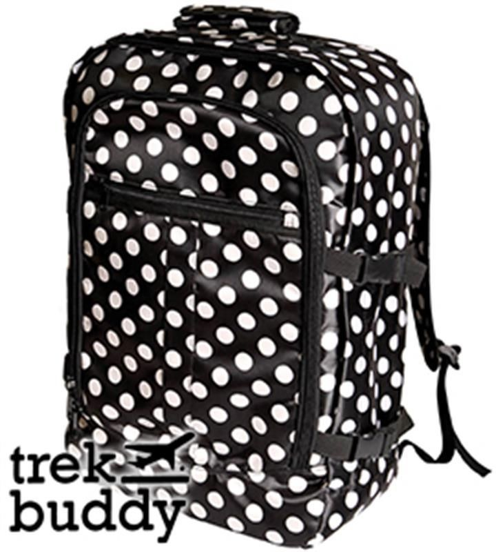 Trek Buddy: Carry-On Cabin Luggage (Polka Dot)   Grab this Cheap Opportunity. Take a look LUXURY HOME BRANDS and get this offer Now!