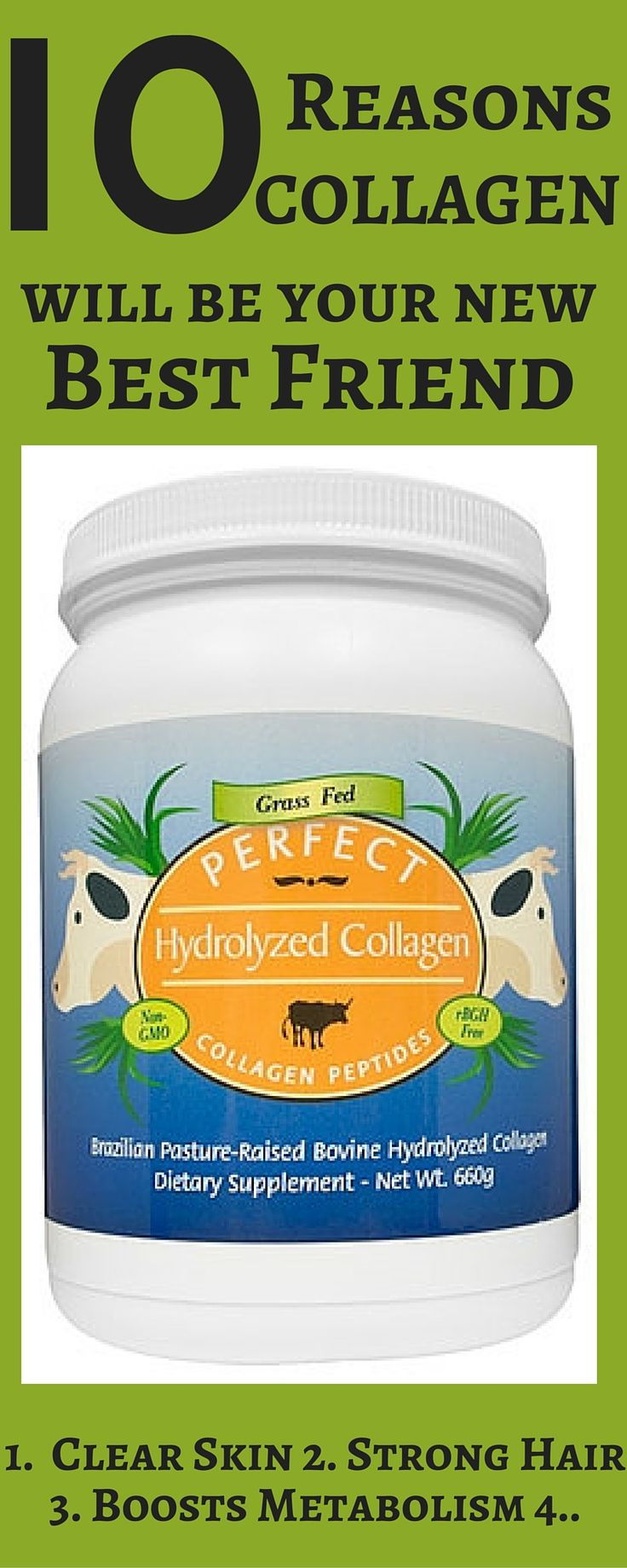 Collagen sourced from 100% Pasture Raised, Grass Fed Brazilian Bovine.   Hydrolyzed down to 5,000 DA so dissolves instantly in any liquid with great bioavailability and no nasty taste or consistency.