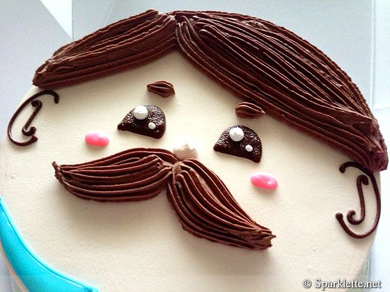 Adoralicious choco truffle cake for Father's Day — As seen on Sparklette.net