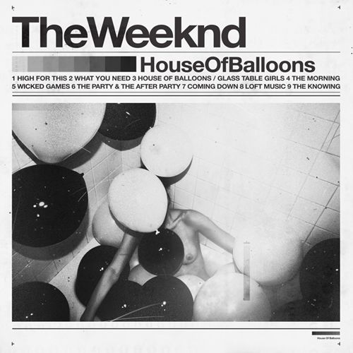 The Weeknd - House Of Balloons Cover