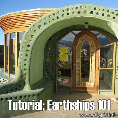 This video by Earthship Biotecture, part one of a series, takes us on a guided tour of an Earthship, showing all of the systems that make it one of the most environmentally sound building ideas to date - this one has no utility bills to pay at all!