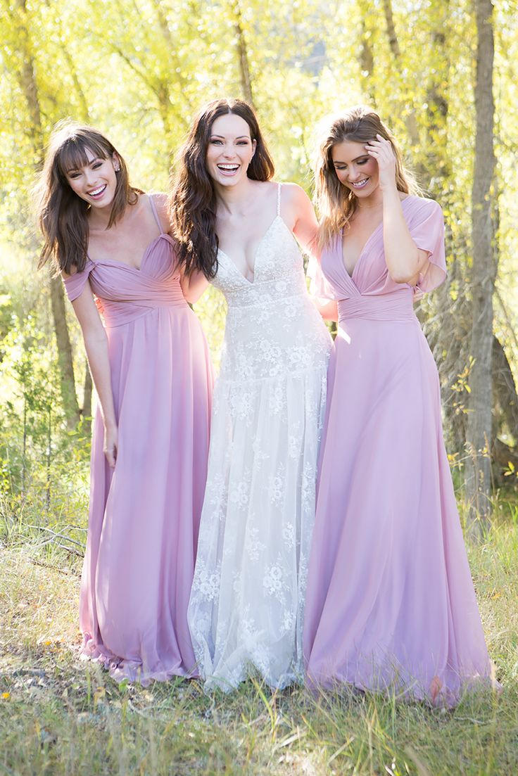 5878 best bridesmaid style images on pinterest heres how to achieve an effortless wedding day look for you and your bridal party ombrellifo Image collections