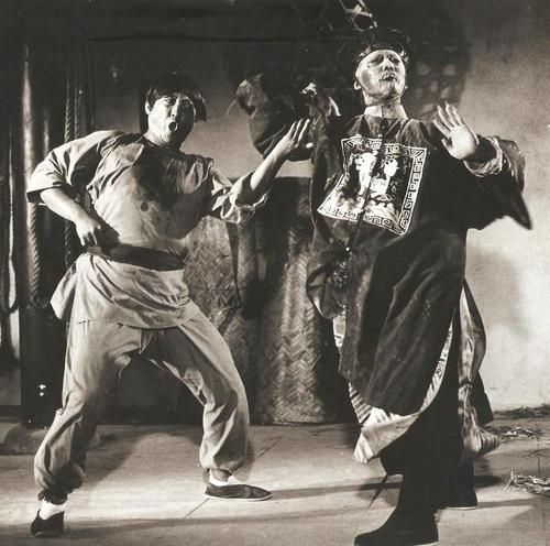 Sammo Hung going one on one with a zombie.