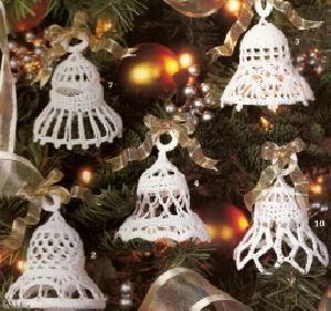 Leisure Arts 3099 Christmas Bells 10 Designs