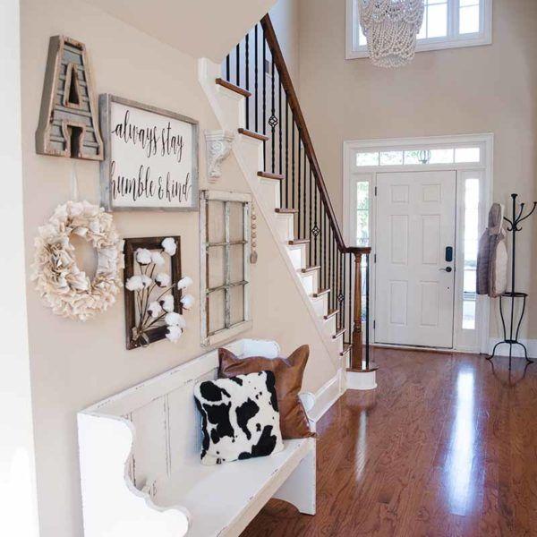 Entryway Ideas Modern Farmhouse Chic Home Decor Farmhouse