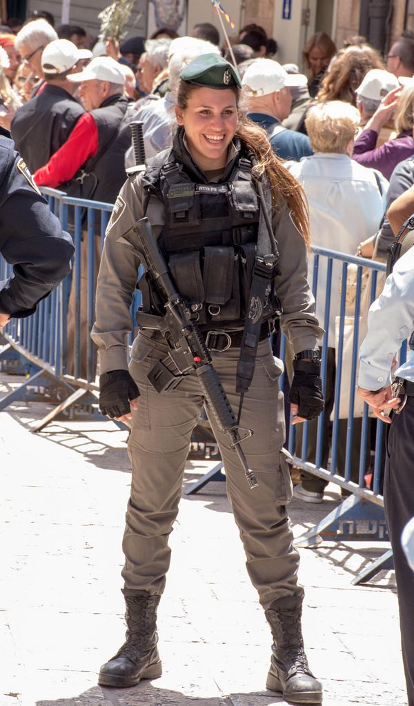 The Real Wonder Woman -  Israel Border Police