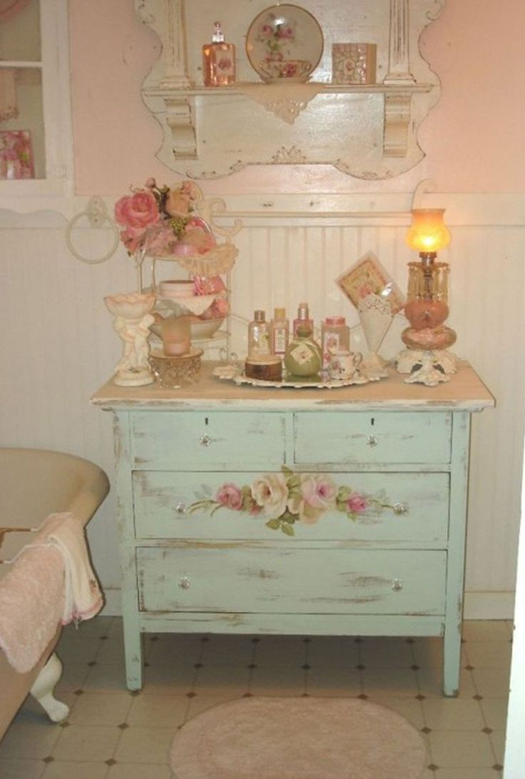 Love The Shabby Dresser! Find This Pin And More On Shabby Chic Decorating  Ideas ...