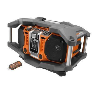RIDGID - RIDGID 18V Jobsite Radio Generation 2 - R84082 - Home Depot Canada
