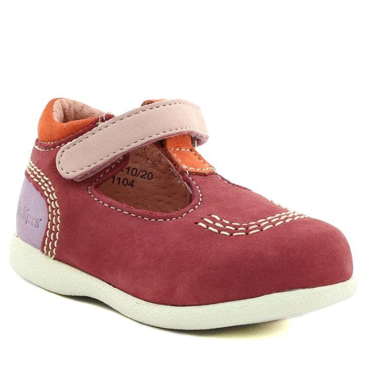 489A KICKERS BABYFRESH ROSE www.ouistiti.shoes le spécialiste internet #chaussures #bébé, #enfant, #fille, #garcon, #junior et #femme collection printemps été 2017