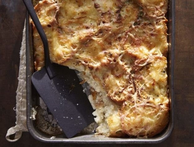 Ham and Gruyère Bread Pudding From 'One Good Dish' | Recipe | Butter ...