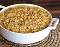 Cheddar Potatoes au Gratin With HamCheddar Potatoes, Hams Recipe, Recipe Entres, Breads Crumb, Comfort Foods, Baking Hams, Dinner Tonight, Comforters Food, Potatoes Au Gratin