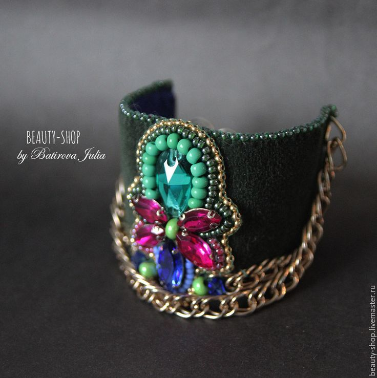 Handmade Vintage style bracelet - beads, jewelry fashion, autumn, autumn fashion, winter, stones