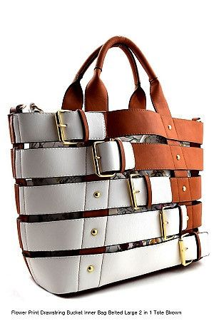 2 in 1 Buckle Tote SetFree shipping now at Sassyposh.com use promo code new20 for 20% off your next order!
