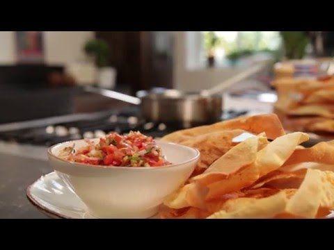 Pikante Salsa met Tomaten en Zelfgemaakte Taco's