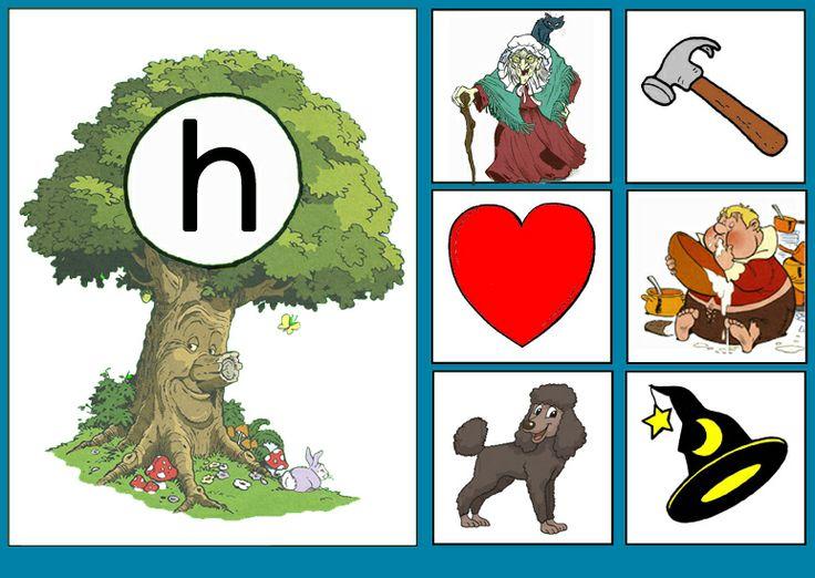 Letterkaart H