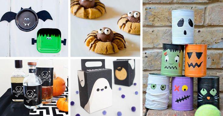 Decorazioni in tema Halloween, 40 idee semplici da ...