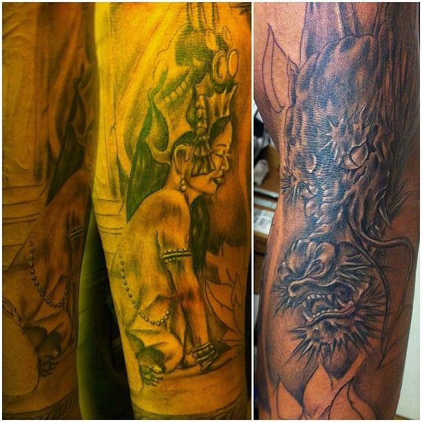 Cambodian Hanuman Tattoo 79 best images about K...