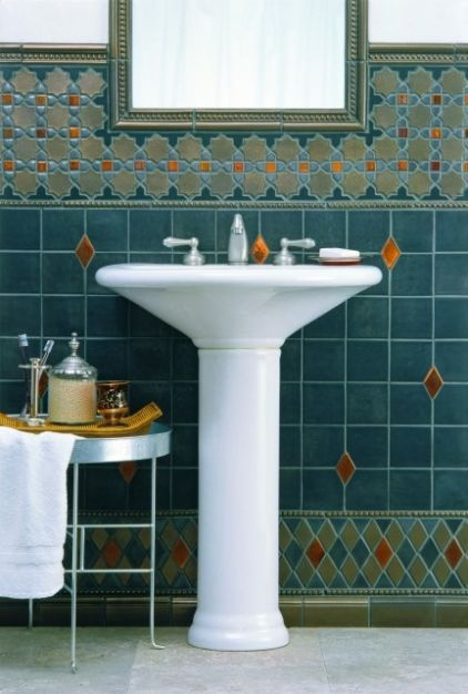 Moroccan Style Tile Tile Bathroom Miles Of Tile