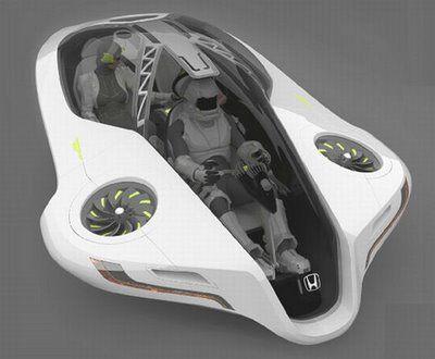 Honda Fuzo - Futuristic Flying Car