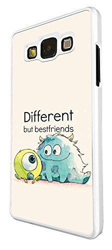 SAMSUNG Galaxy A3 Cool Fun Monsters Different But Best Friends 177 Design Fashion Trend Cover Coque arriere Coque Case-Plastique et métal Cellbell LTD http://www.amazon.fr/dp/B00V4X7T7E/ref=cm_sw_r_pi_dp_X8Ifwb0ADMYAM