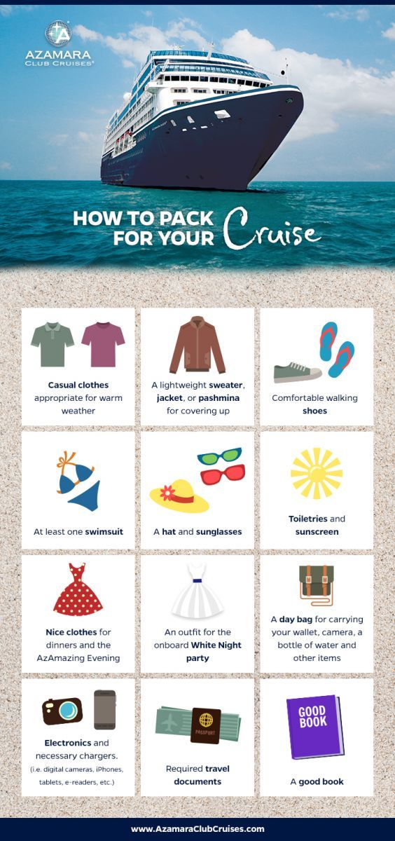 Wondering what to pack for your Caribbean cruise to #Cuba? We've got you covered.