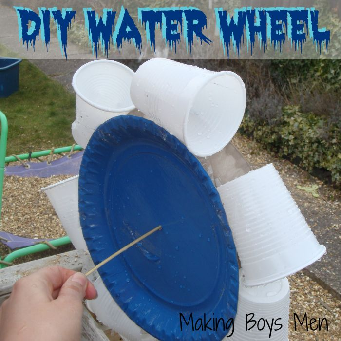 "How to make a water wheel ("",)"
