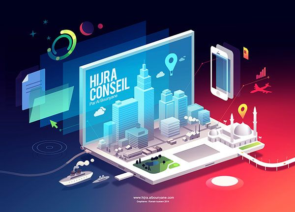 Hijra Conseil on Behance