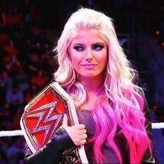 Raw Woman Champion Alexa Bliss