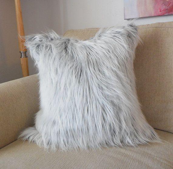 Faux Fur Pillow Https Www Etsy Com Listing 252089244 20