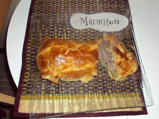 Filet mignon de porc en croûte tout simple