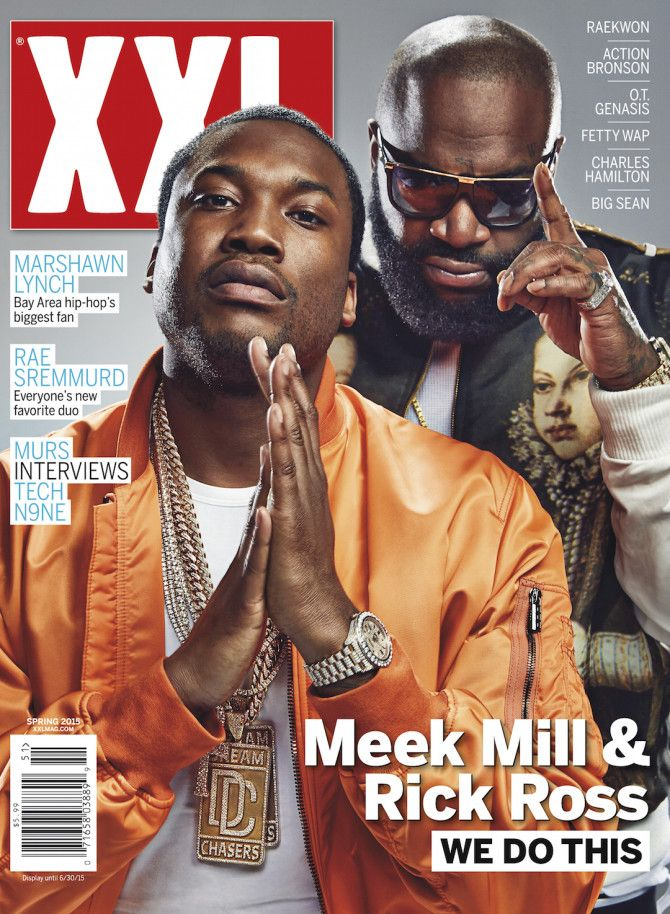 Meek Mill & Rick Ross Cover XXL (Spring 2015)