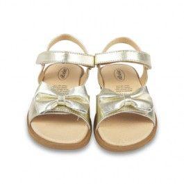 Gouden sandalen 'Bloom' - Old Soles