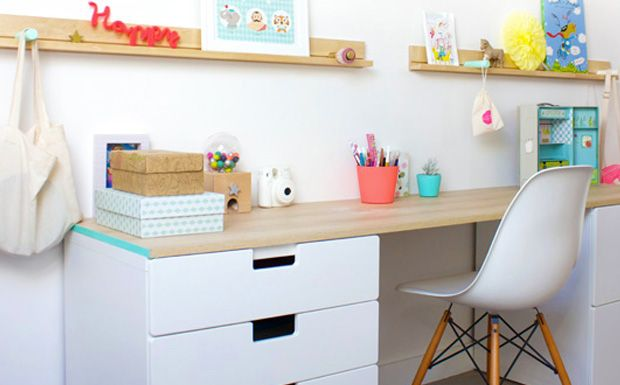 un joli bureau pour enfant bureaux. Black Bedroom Furniture Sets. Home Design Ideas