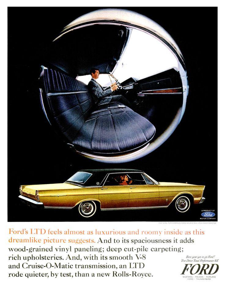 99 best ford 1965 1966 images on pinterest vintage cars 1965 ford ltd 4 door hardtop sciox Choice Image
