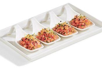 #Tartare de #saumon à la californienne. #recette