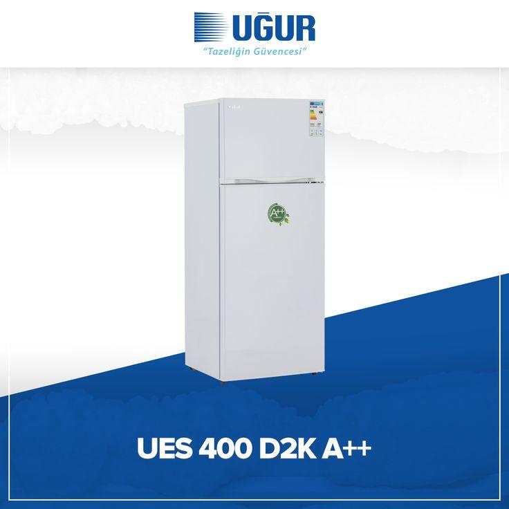 UES 400 D2K A++ birçok özelliğe sahip. Bunlar; mekanik ısı kontrol sistemi, ayarlanabilir ayak, iç aydınlatma, yönü değiştirilebilir kapı, sebzelik cam raf, dondurucu bölmesi, gömme kapı tutamağı. #uğur #uğursoğutma