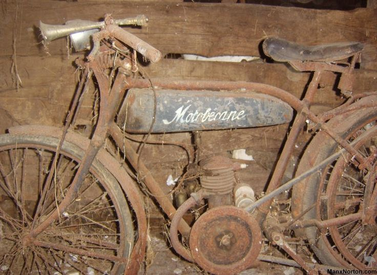 Vintage French Motorcycles | Sheldons EMU
