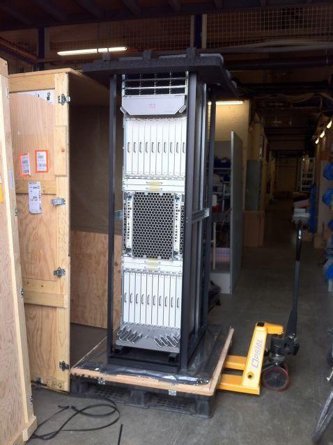 Shipping an ASR9922