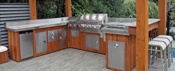 20 Fancy Modular Outdoor Kitchen Designs via @homedesignlover