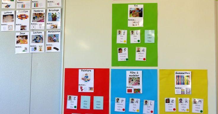 Ma petite maternelle: L'organisation des ateliers des petits-grands