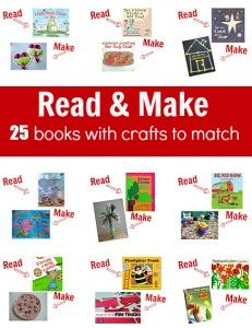 23 Fall Books with Crafts To Match - I love the idea of literacy based craft activities, that promote speech and fine motor skills. I'm going to have to put this on my Preschool Stuff board too!