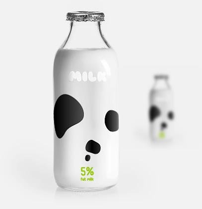 Design concept packaging for milk